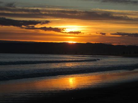 Jen sunset