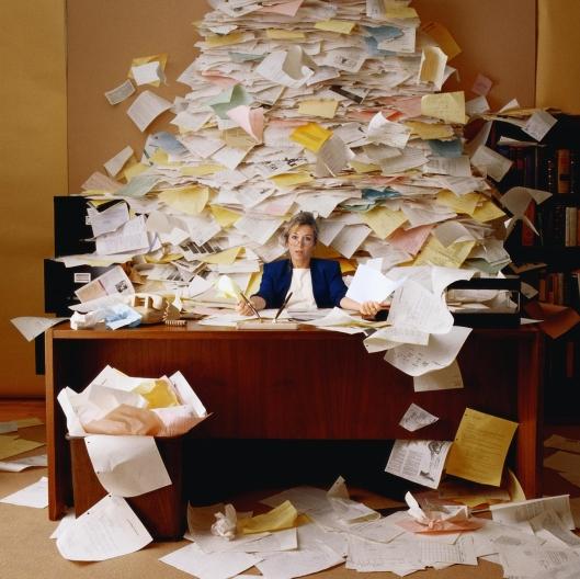 paperwork chaos
